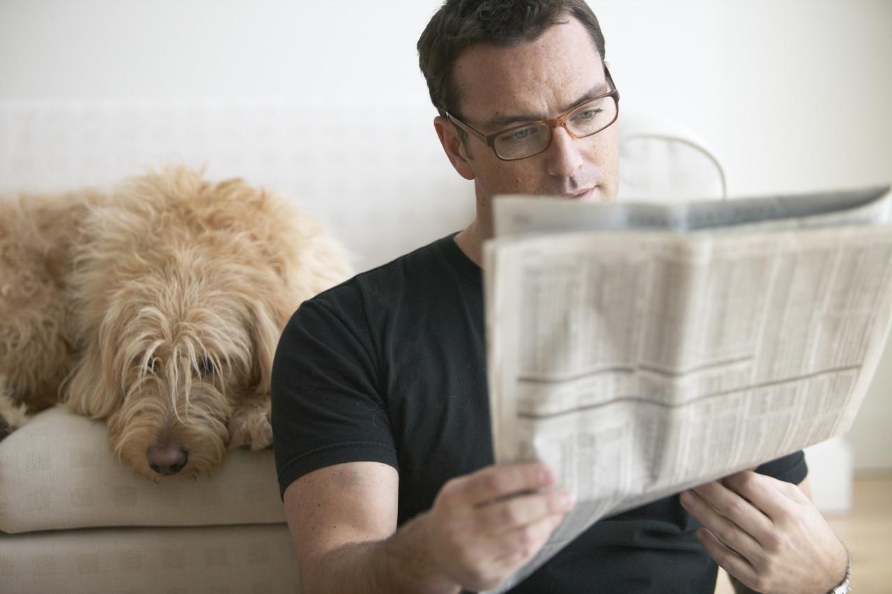 A-Man-Reading
